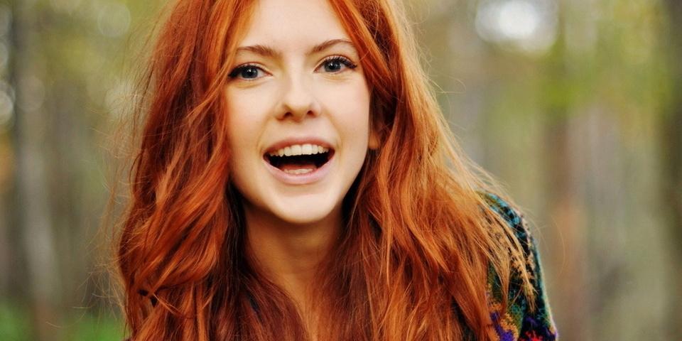 Девушки подростки с рыжими волосами